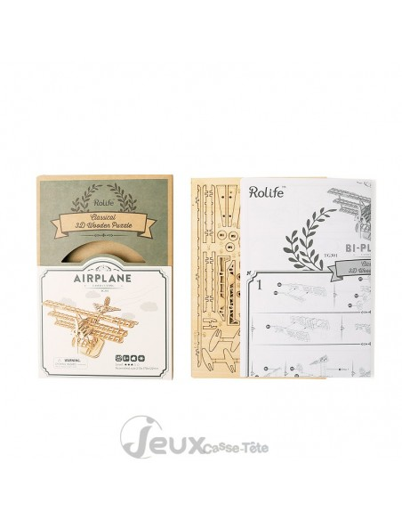 Puzzle 3d Airplane