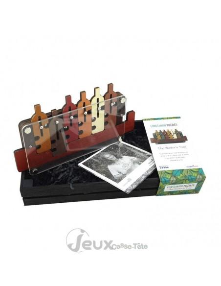 puzzle 3d en bois the waiter's tray casse-tête en bois
