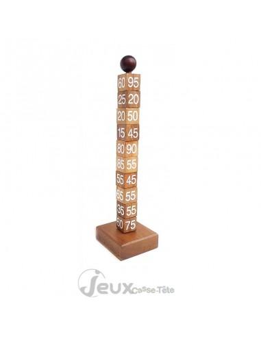 Casse-tête en bois tour mathématique
