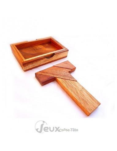 Casse-tête en bois T puzzle