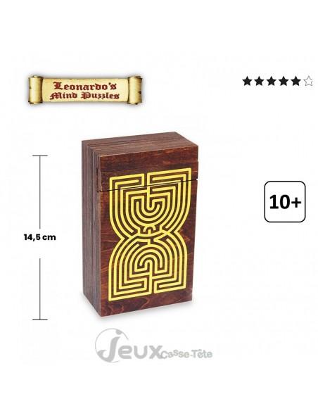 Boite secrète casse-tête labyrinthe