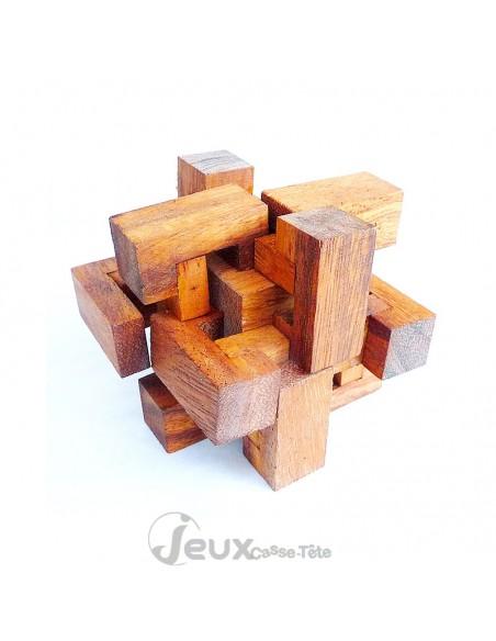 Casse-tête en bois piège