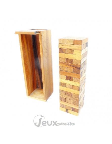 Jenga la tour infernale en bois