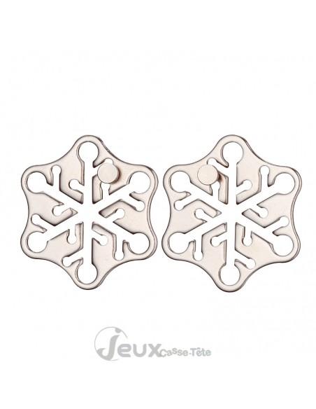Casse-tête métal Hanayama Cast Snow