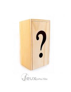 Boite secrète casse-tête en bois coffret ?