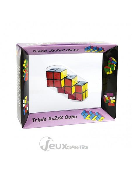 Triple cube joints 2x2x2