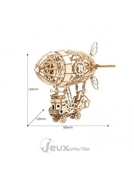 Puzzle 3d Airship ballon dirigeable 176 pièces