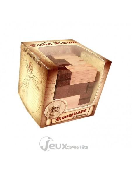 Le cube robot casse tête en bois multifonction