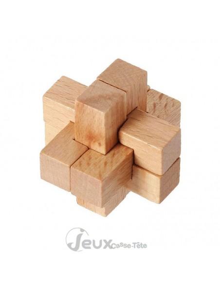 Coffret 4 casse-têtes en bois Eureka! 3d