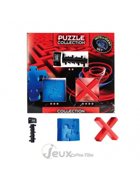 coffret 3 casse-têtes intelligent set