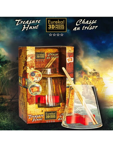 puzzle eureka!3d treasure hunt