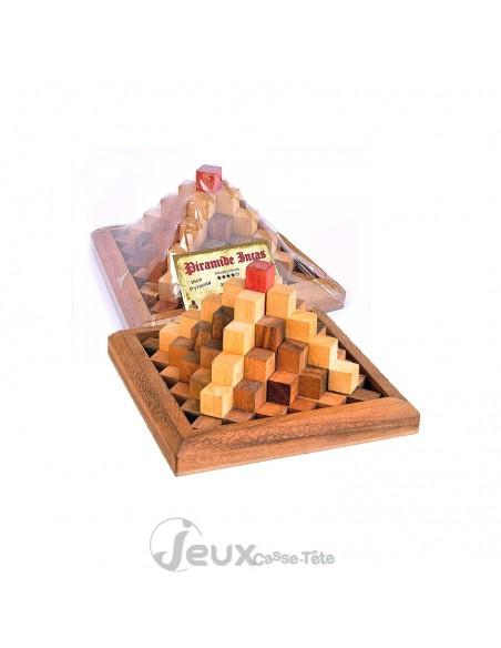 Casse tête en bois la pyramide des Incas