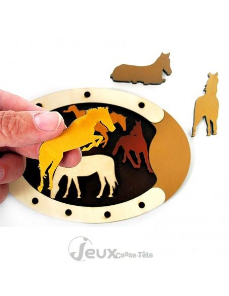 Puzzle WILD HORSES JC Constantin