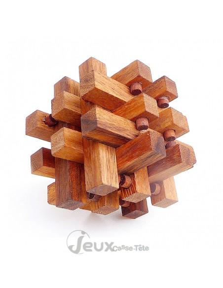 Casse-tête en bois Encastrement