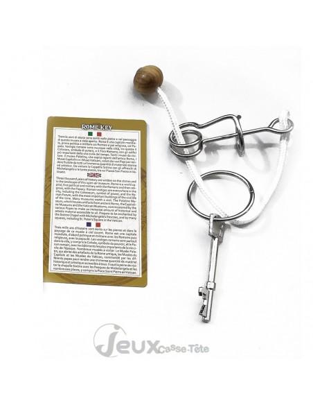 Casse-tête en métal Les clés de Rome