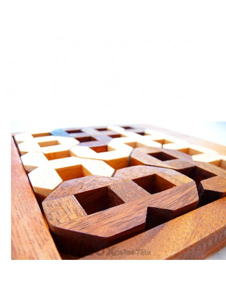 Puzzle numéros de 0 à 9 puzzle 3D difficulté 4