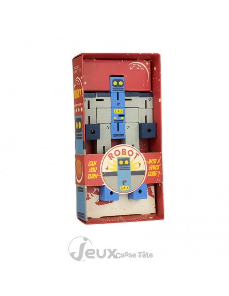 Cube robot gamme Puzzle Planet Professor Puzzle