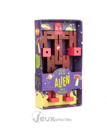 Cube robot Alien Puzzle Planet Professor Puzzle
