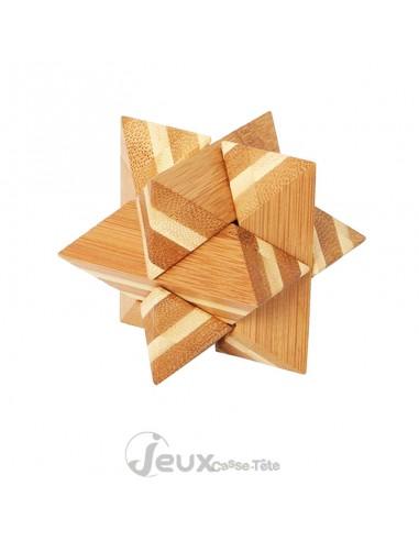 Casse-tête en Bambou ecofriendly STAR