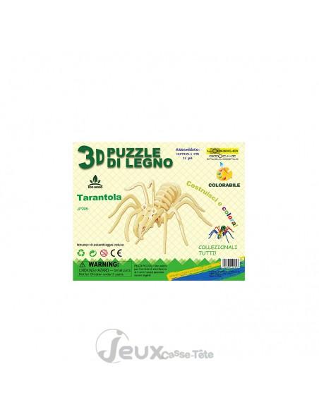 Puzzle 3d en bois Tarentule