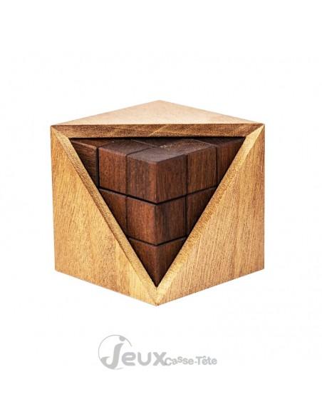 Casse-tête en bois Triple 4 de Osanori Yamamoto