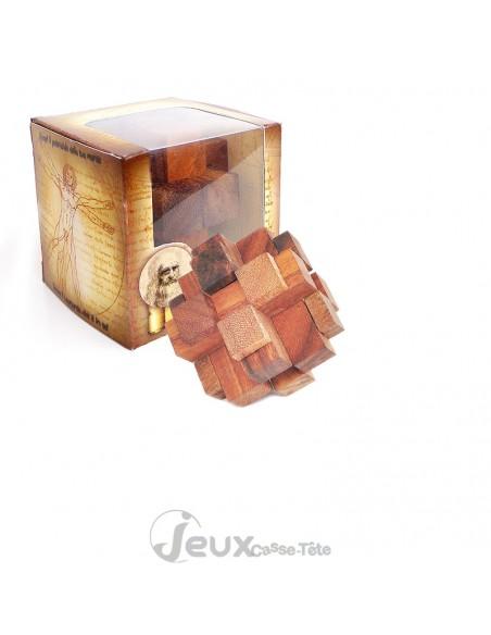 Casse-tête en bois Cube magique