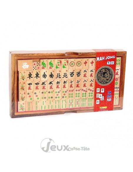 Le Mah Jong 144 pièces dans un coffret