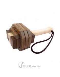 Le marteau de Thor casse-tête en bois