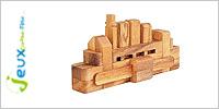 Solution casse-tête en bois Bateau