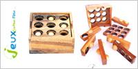 Solution casse-tête en bois porte canette