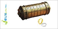 Solution casse-tête en métal Da Vinci Code