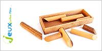 Solution casse-tête en bois Range cigare