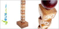 Solution casse-tête en bois Bernoulli